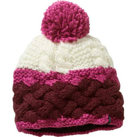784919ef44a Cold Front Ladies Chunky Knit Beanie w Pom - Walmart.com