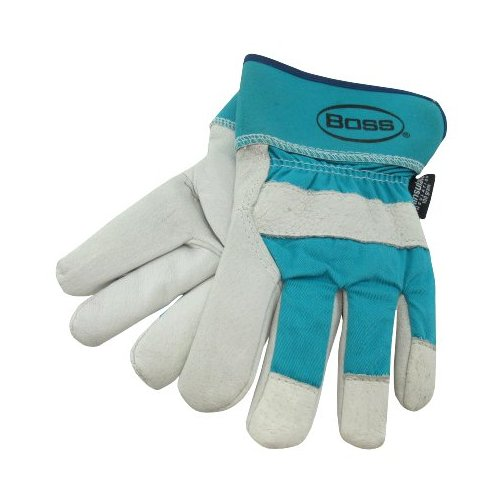 Woman's Lined Leather Palm Gloves