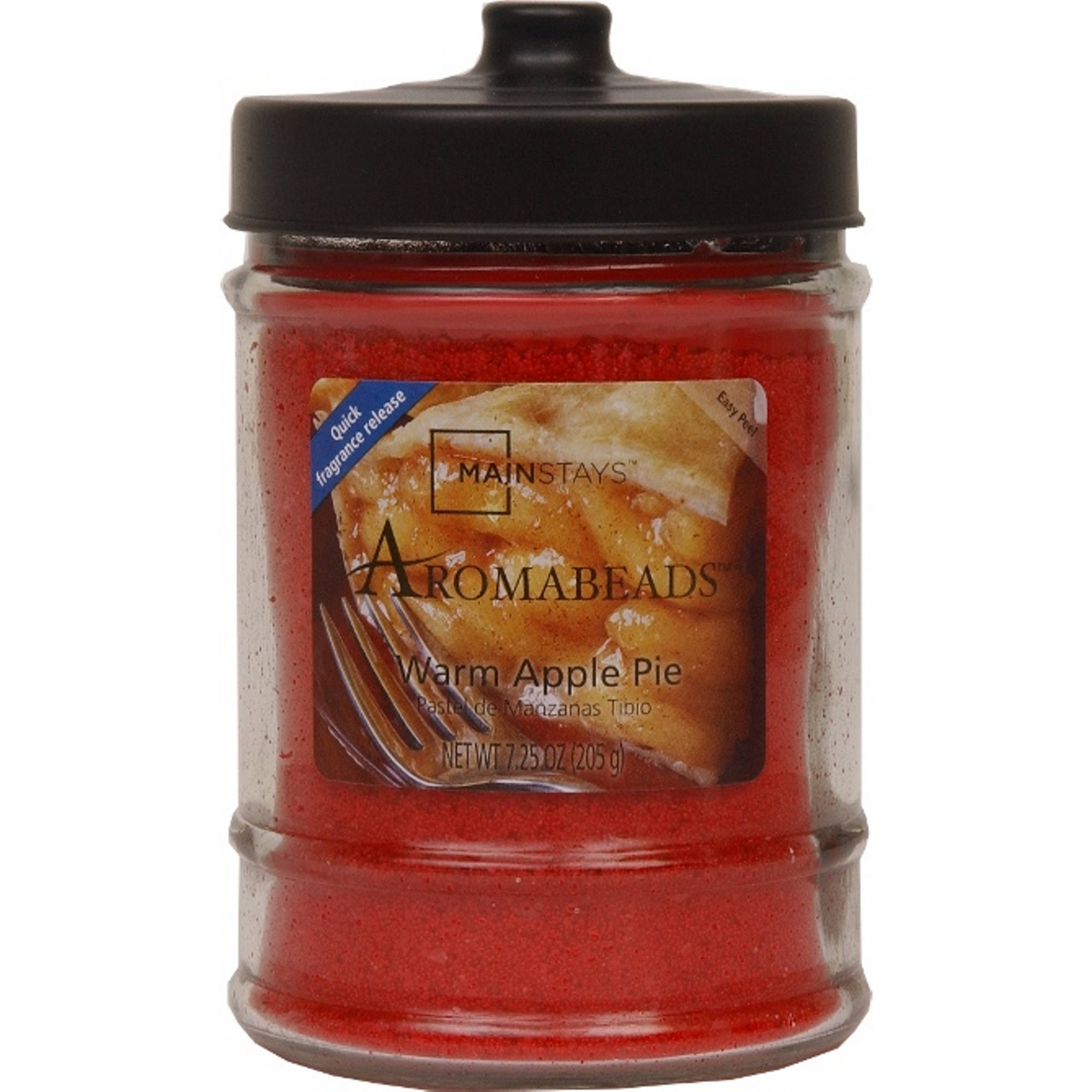 Mainstays 7.25-Ounce Aromabeads Candle, Warm Apple Pie