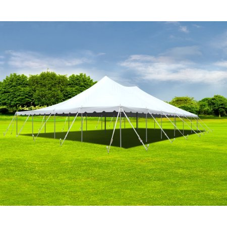 Party Tents Direct White Sectional Outdoor Wedding Canopy Pole Tent (40x60)