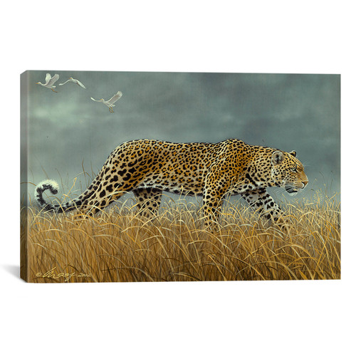 iCanvas 'Leopard 2' by Harro Maass Painting Print on Canvas