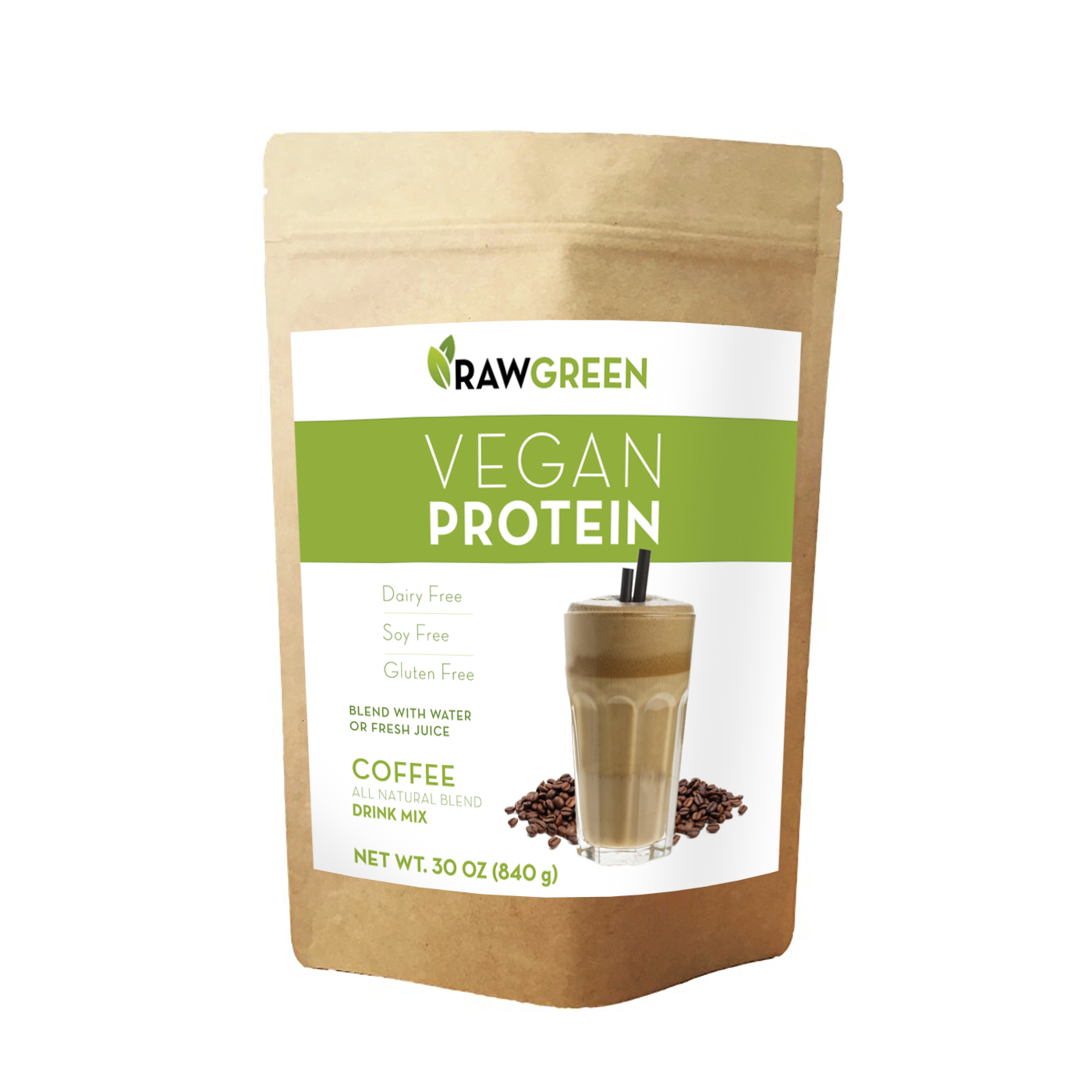 Vegan Protein Coffee (1lbs)
