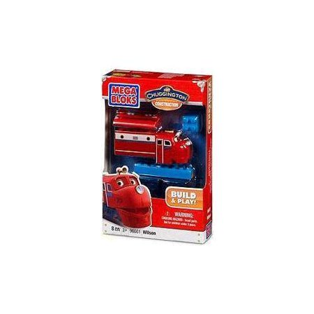 Mega Bloks - Chugginton Construction Build & Play 8 Piece Set: Wilson