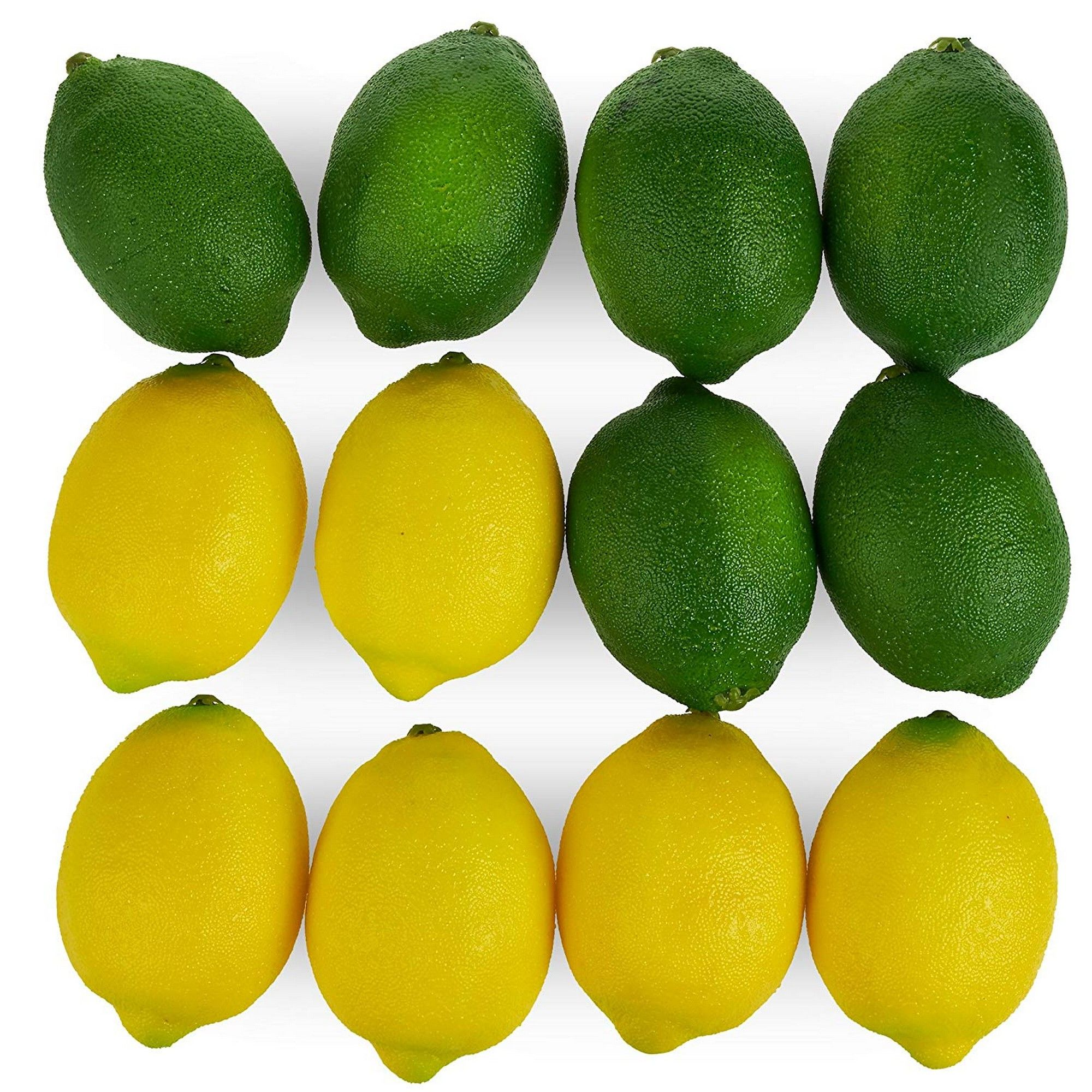 2 Strings Limes Lemon Lifelike Artificial Fake Fruit Imitation Home Decoration