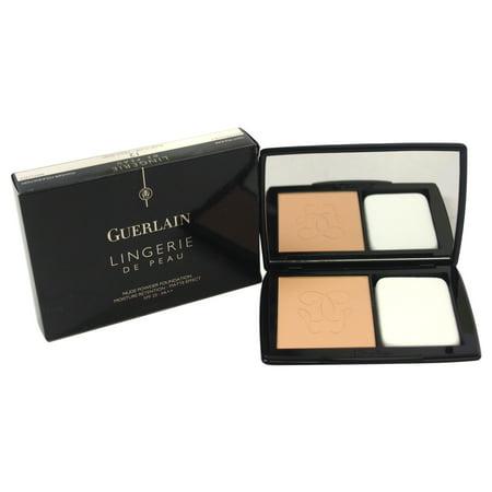 Guerlain Lingerie De Peau Nude Powder Foundation with SPF 20, 12 Rose Clair, 0.35 Oz