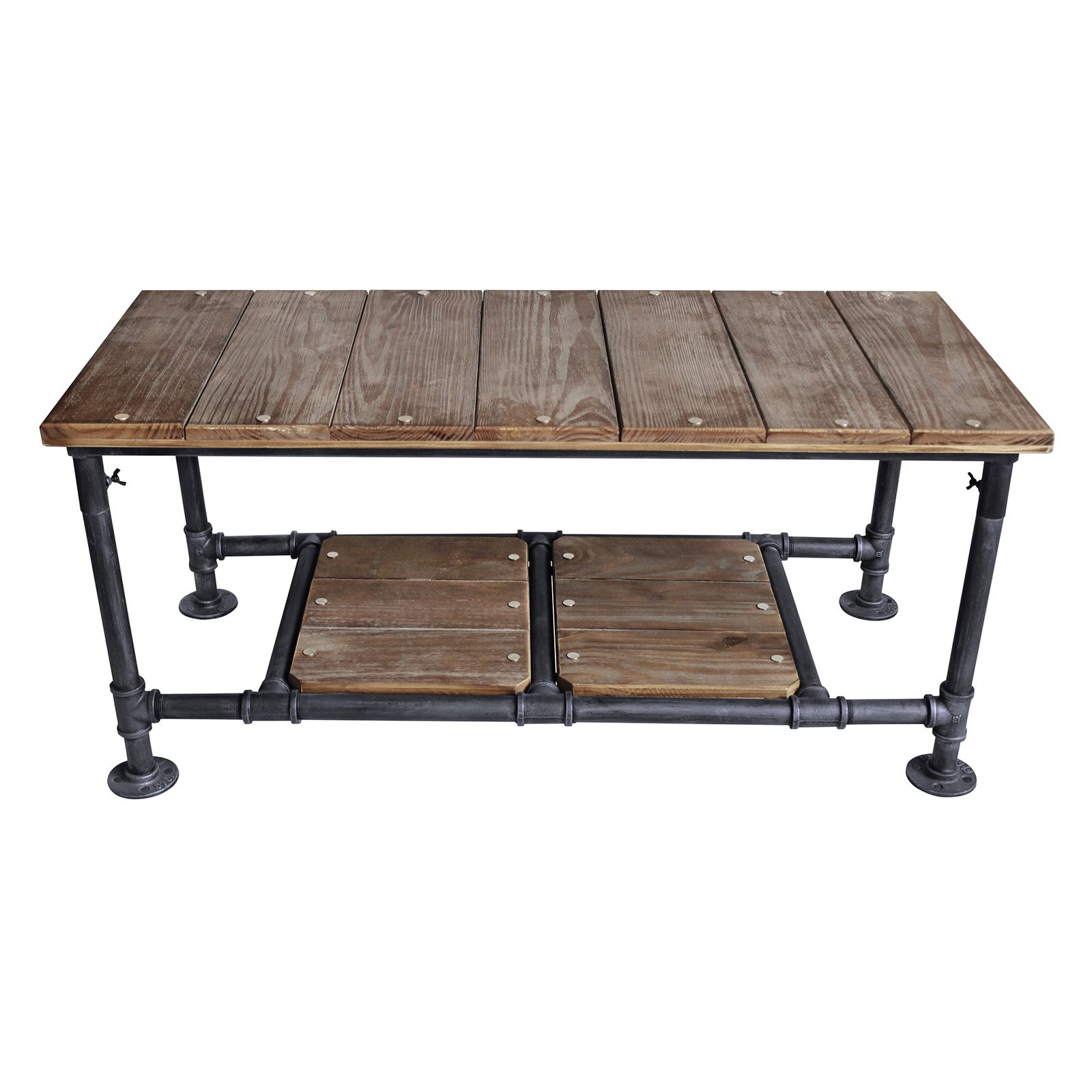 Home Chic Fletcher Industrial Coffee Table