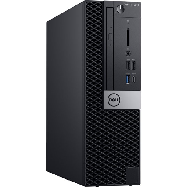 Dell OptiPlex 5070 Desktop Computer - Intel Core i5-9500 - 8GB RAM - 500GB HDD - Small Form Factor