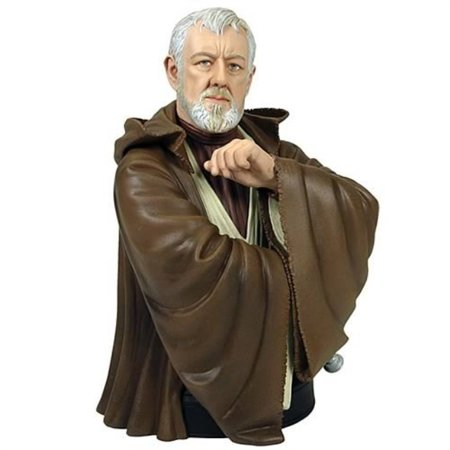 - Star Wars Obi-Wan Kenobi A New Hope Mini Bust by Gentle Giant