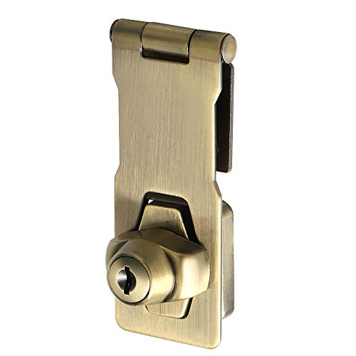 """3 Pk Stainless Steel 3.25/"""" Non Swivel Door Box Safety Clasp Latch Hasp N348-250"""