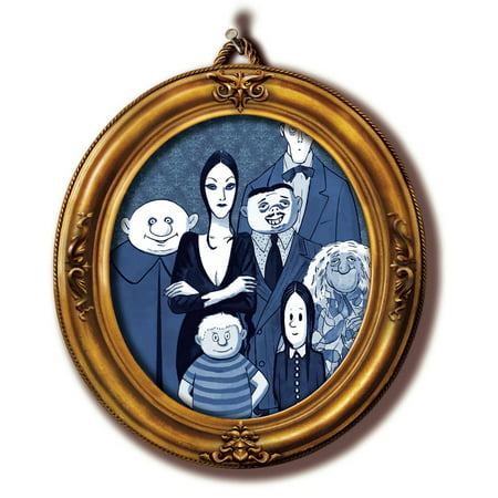 Uncle Fester On Addams Family (The Addams Family Gomez Wednesday Morticia Uncle Fester Edible Cake Topper Image)