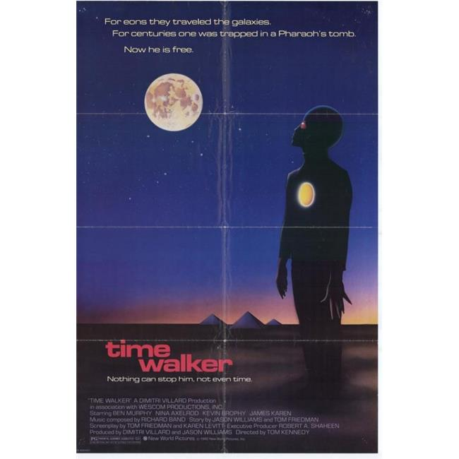 Posterazzi MOVGH3255 Time Walker Movie Poster - 27 x 40 in. - image 1 de 1