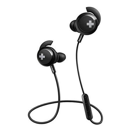 Philips Microphone Earphone - Philips Bass+ Bluetooth Earphones with Mic - Black (SHB4305BK/27)