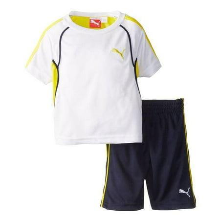 Puma Infant / Toddler / Kids 48 Perf Set Soccer Combo Shirt & Shorts - 3 (Adidas Neo V Jog Infant & Toddler Sneaker)