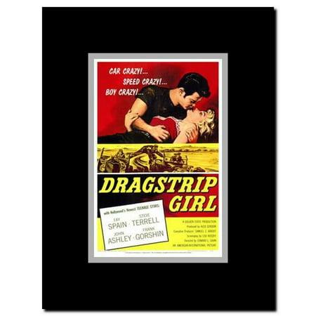Dragstrip Girl Framed Movie Poster