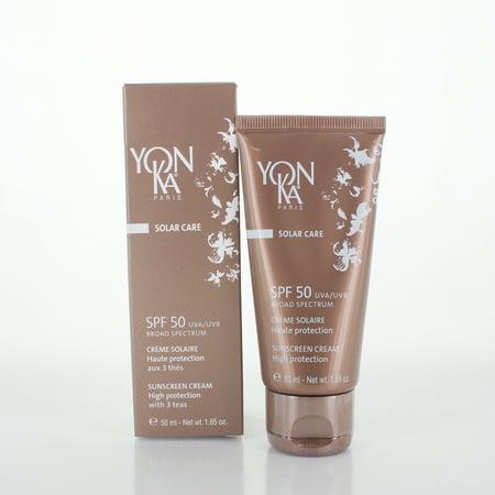 Yonka Solar Care Sunscreen Cream SPF 50, 1.65 Oz (Solar Sun Protection)