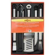 Mr. Bar-B-Q 5pc Oval Stainless Steel Tool Set