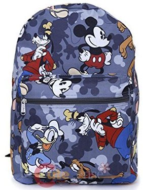 b3d7c7ef64 Product Image Mickey Mouse Friends 16 Large School Backpack All Over Prints  Bag Grey