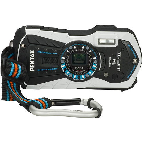Optio WG-2 GPS Compact Camera