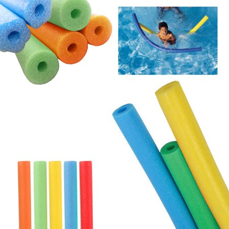 Pool Noodle Crafts (6 Pack Swimming Pool Noodles Swim Therapy Water Noodle Floater Floatie)