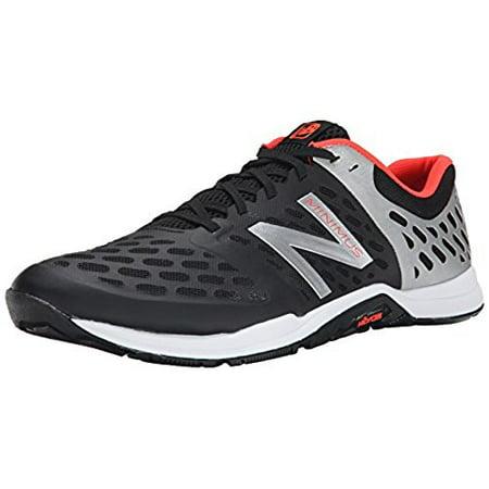 nowy styl życia buty sportowe klasyczny New Balance Men's MX20BS4 Cross Minimus Training Shoe, Black/Silver/Red,  11.5 D US