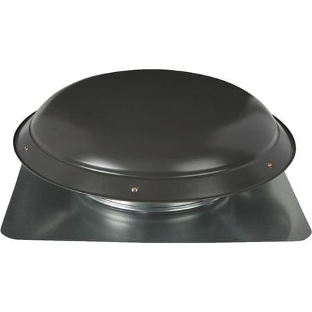 Ventamatic Economy Galvanized Steel Dome Power Roof Mount Attic Vent