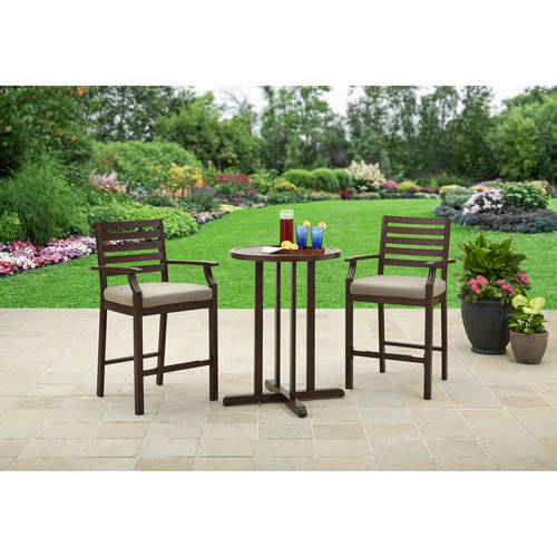 Better Homes and Gardens Lund Valley Faux Wood Balcony Set