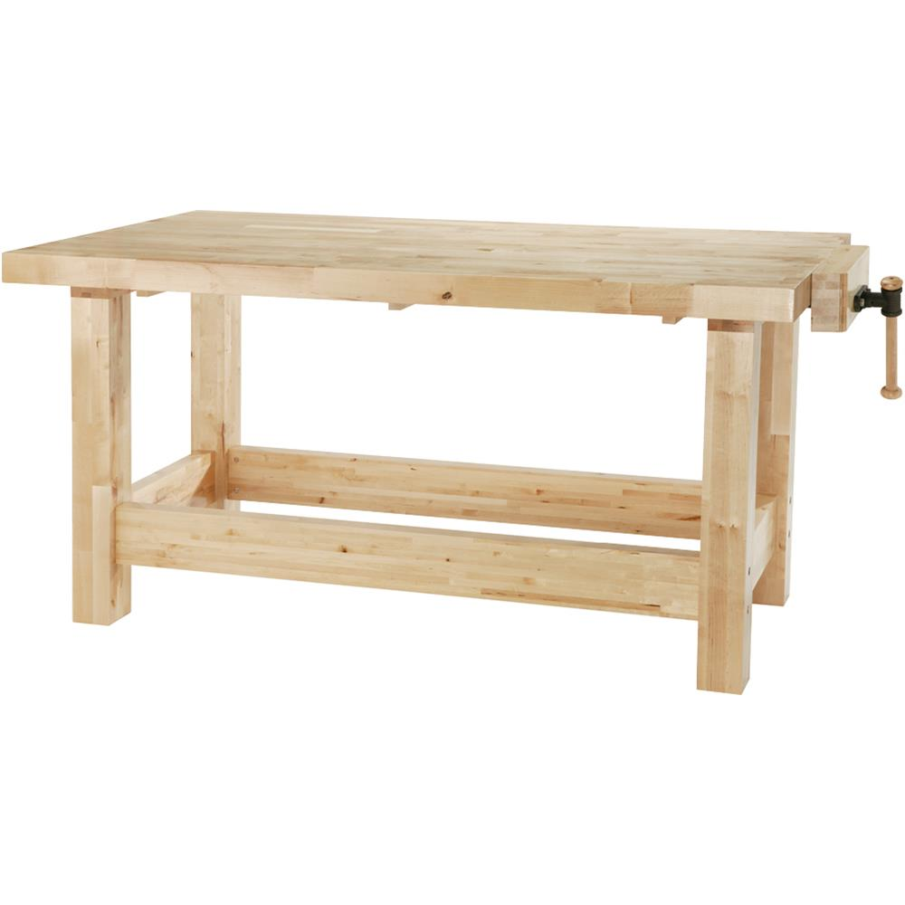 "Grizzly H8362 72"" x 36"" Heavy-Duty Birch Workbench by"