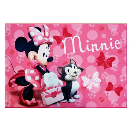 Minnie Mouse HD Boutique Rug, 54