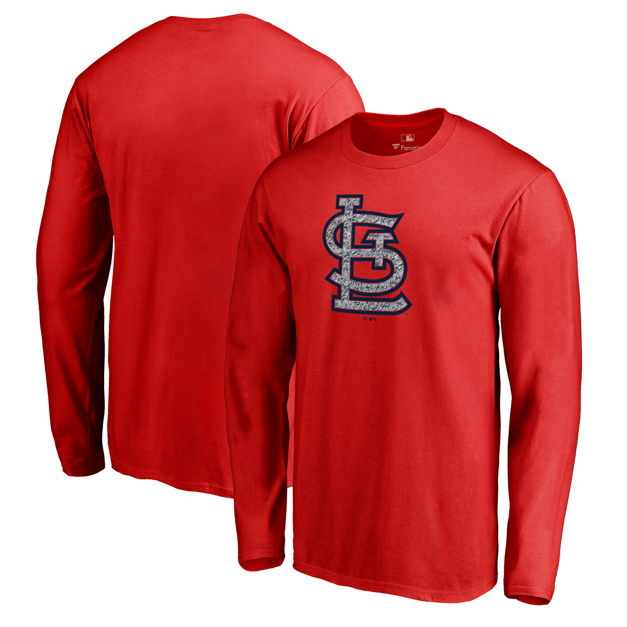 St. Louis Cardinals Fanatics Branded Static Logo Long Sleeve T-Shirt - Red