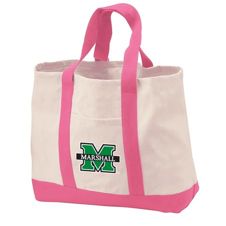 Marshall University Tote Bag Canvas Bags For Travel Beach Ping