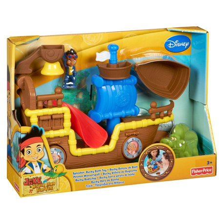 fisher price jake and the never land pirates splashin 39 bucky bath toy. Black Bedroom Furniture Sets. Home Design Ideas