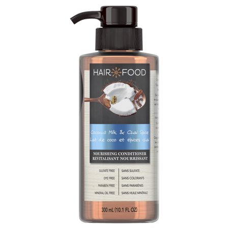 Hair Food Coconut & Chai Spice Sulfate Free Conditioner, 300 mL, Dye Free - 500 Ml Conditioner