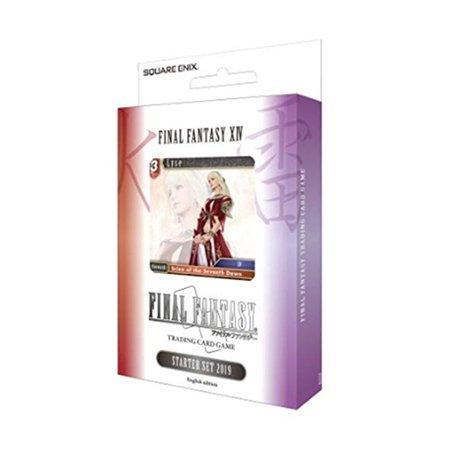 Final Fantasy XIV Starter Set 2019 Trading Card Game OPUS VIII - Final Fantasy Trading Arts