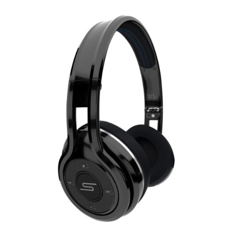 SMS Audio SYNC by 50 Cent Wireless On-Ear Headphones Black SMS-BTWS-BLK