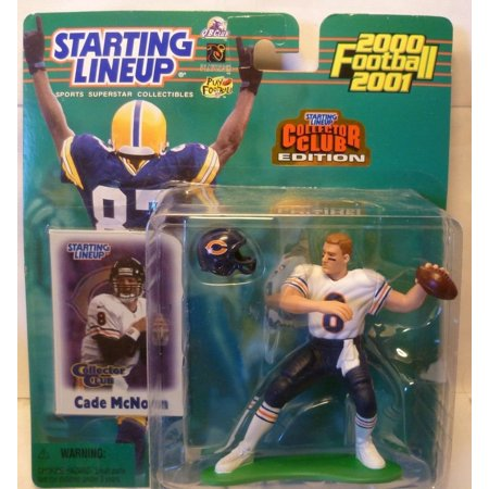 - 2000 NFL Starting Lineup Collector Club Edition - Cade McNown - Chicago Bears