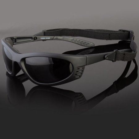 Polarized Wind Resistant Sunglasses Sports Motorcycle Riding Glasses Foam (Cool Motorcycle Glasses)