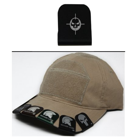 3b476e637 Ultimate Arms Gear SKELETON TARGET Hat Cap Crown Brim-It, Black -  Walmart.com