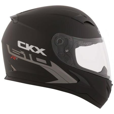CKX Solid RR610 Full-Face Helmet, Summer Single Shield (Marine Motorcycle Helmet)