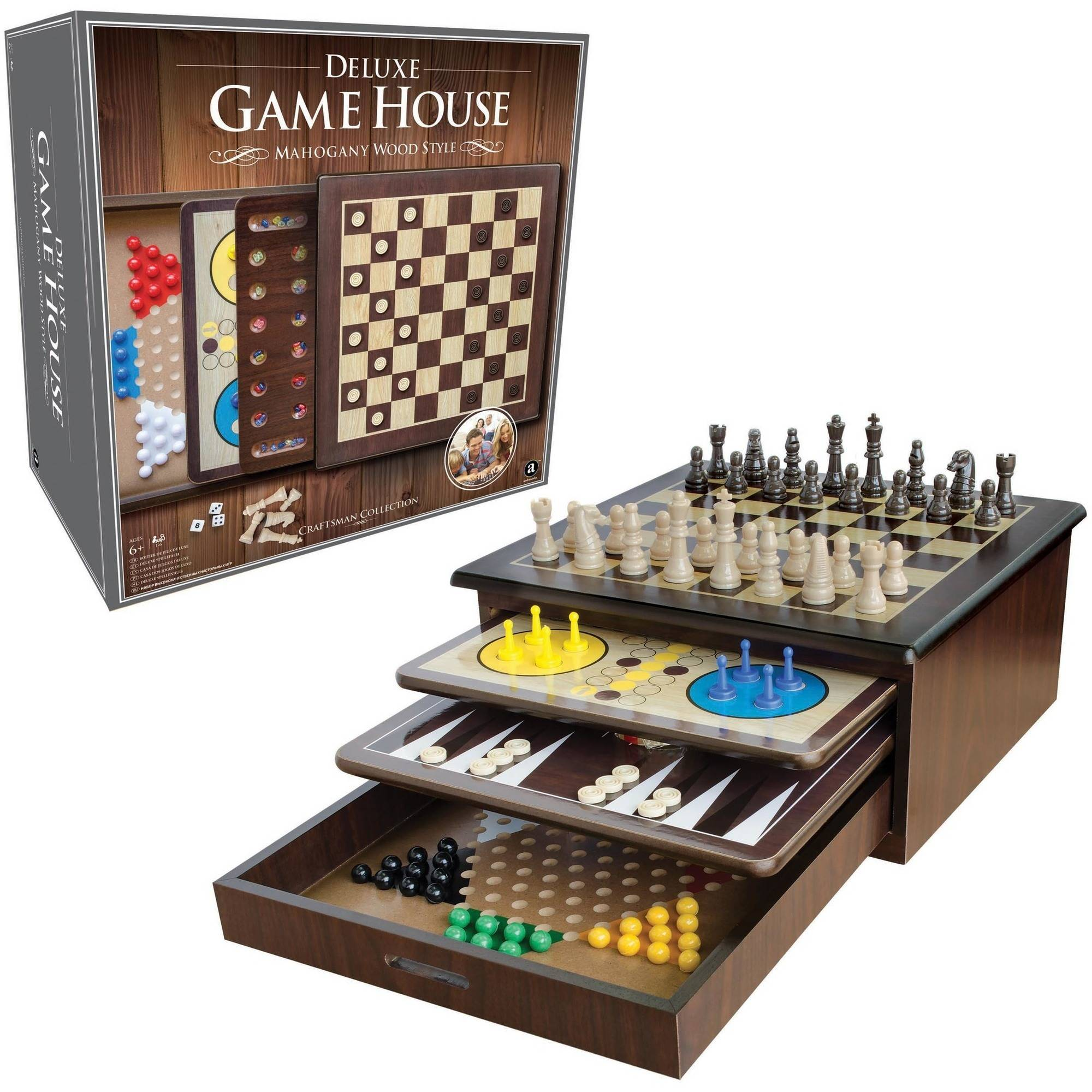 Craftsman Deluxe Game House