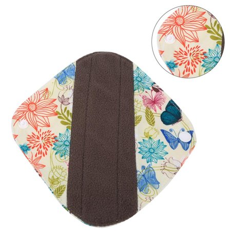 TOPINCN Cloth Menstrual Pads, Heavy Reusable Washable Panty Liner Bamboo Cloth Mama Menstrual Sanitary Pad Hot WSD8, Cloth Menstrual Liner