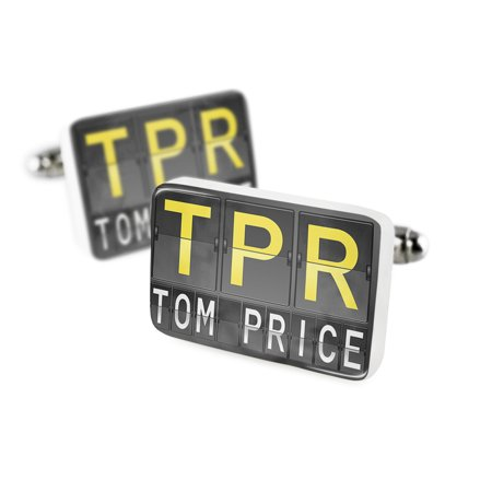 Cufflinks Tpr Airport Code For Tom Priceporcelain Ceramic Neonblond