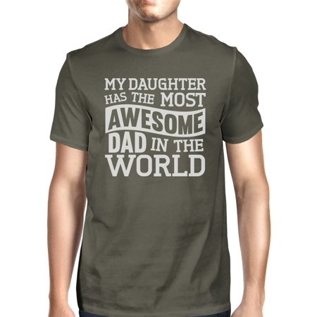 Mec Design (365 Printing The Most Awesome Dad Mens Funny Design Short Sleeve T Shirt For Dad)