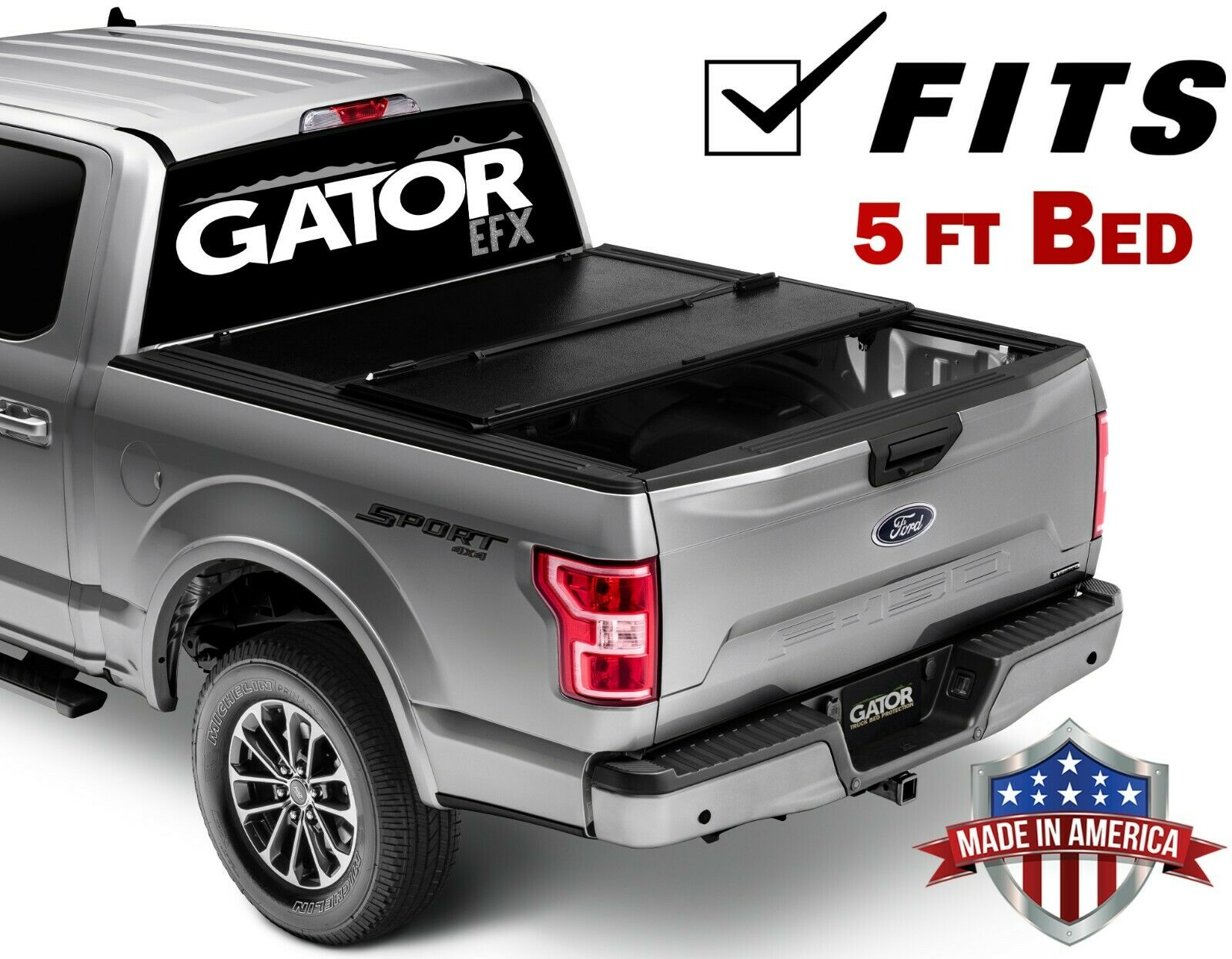 Gator Efx Hard Tri Fold Fits 2005 2019 Nissan Frontier 5 Ft Bed W Ts Only Tonneau Truck Bed Cover Made In The Usa Gc54011 Walmart Com Walmart Com