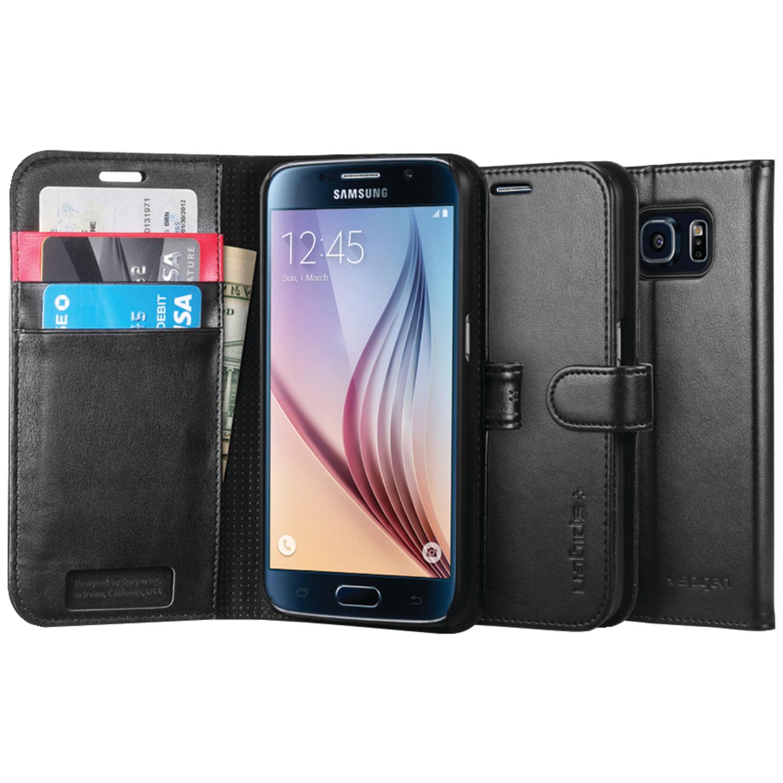 SPIGEN SGP11462 Samsung(R) Galaxy S(R)6 Wallet S(R) Case (Black)