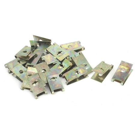 50 Pcs 3mm U Nut Extruded Fairing Snap Speed Clip Fastener - 3mm Snap