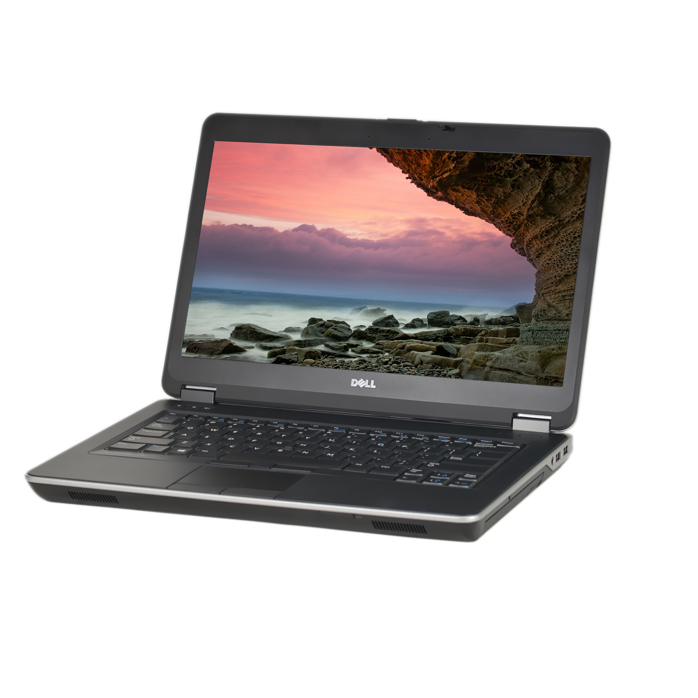 """Refurbished Dell E6440 14"""" Laptop, Windows 10 Pro, Intel Core i5-4300M Processor, 16GB RAM, 500GB Solid State Drive"""
