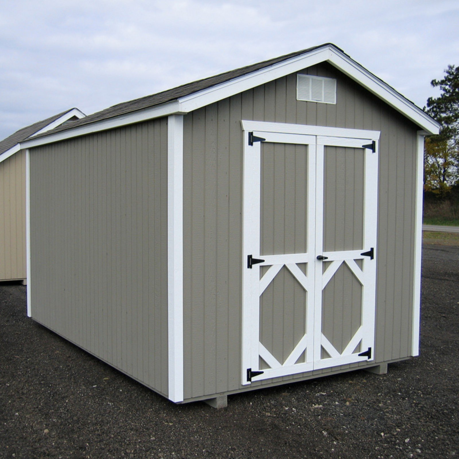 Little Cottage 8 x 8 ft. Classic Wood Gable Panelized Storage Shed