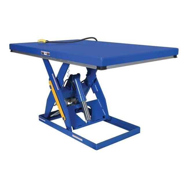 Vestil AHLT-4872-3-43 Air-Hydra Scissor Lift Table, 42 x 72 in. - 3000 lbs