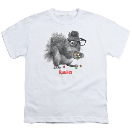 Rubik's Cube Nerd Squirrel Big Boys Shirt