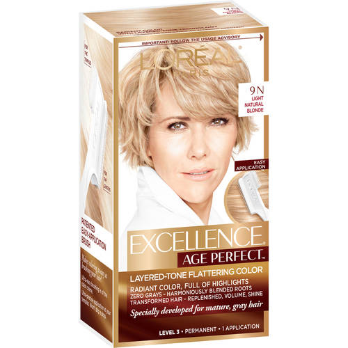 Lu0026#39;Oreal Paris Excellence Age Perfect Hair Color For Gray Hair - Walmart.com